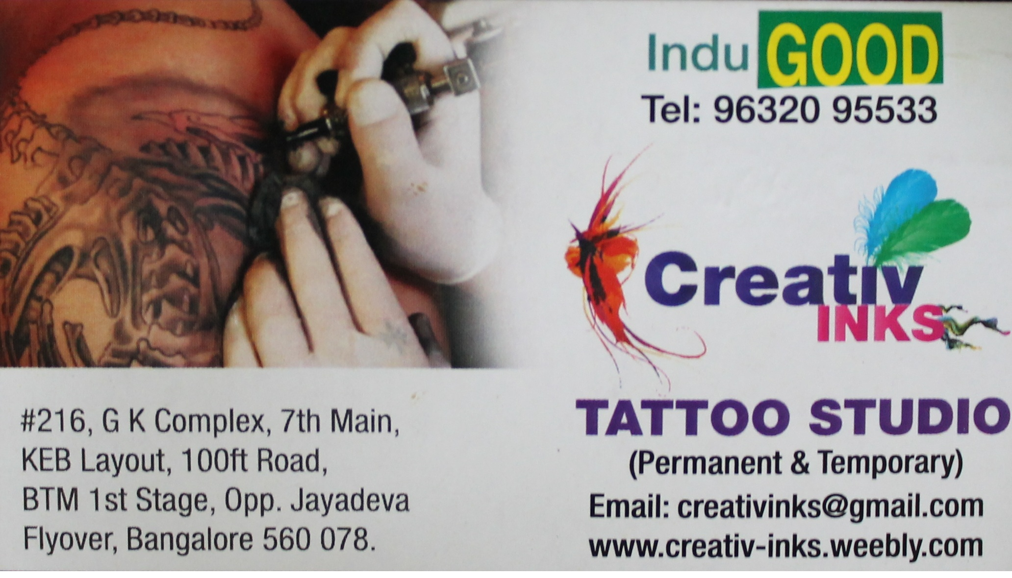 Tattoo shop in jayanagar bangalore tattoo suppliers body for Raghav name tattoo