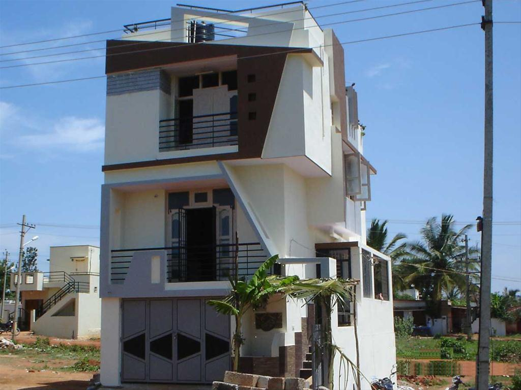 Front Elevation Pictures In Bangalore : Boundary wall design in india joy studio gallery